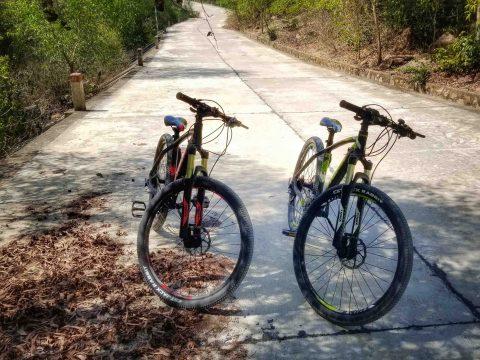 Dịch vụ cho thuê xe đạp địa hình du lịch Cù Lao Xanh – Quy Nhơn