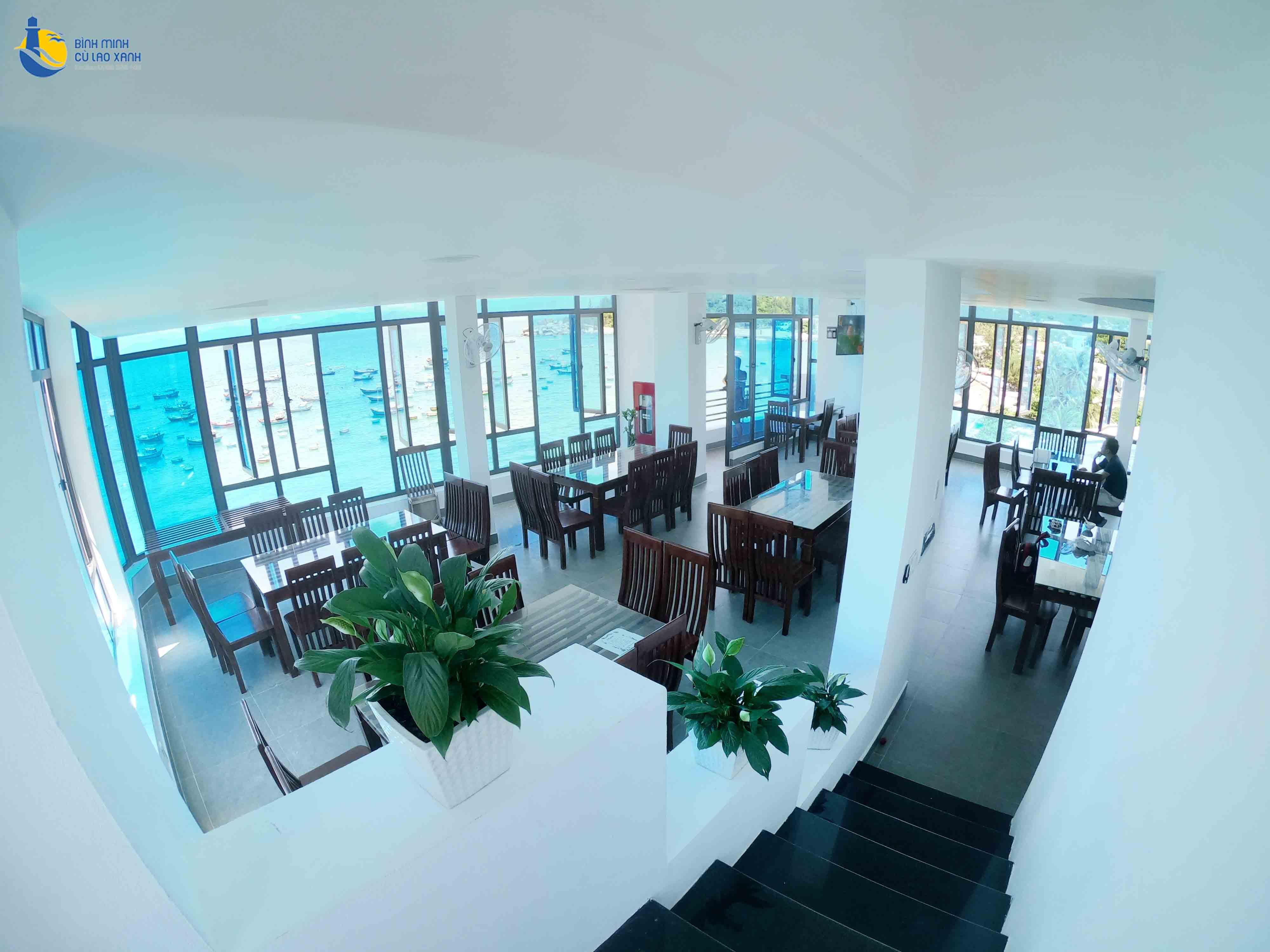 Ẩm thực Cù Lao Xanh - Không gian nhà hàng Cù Lao Xanh