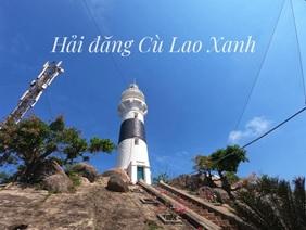 Ngọn hải đăng trên đảo Cù Lao Xanh