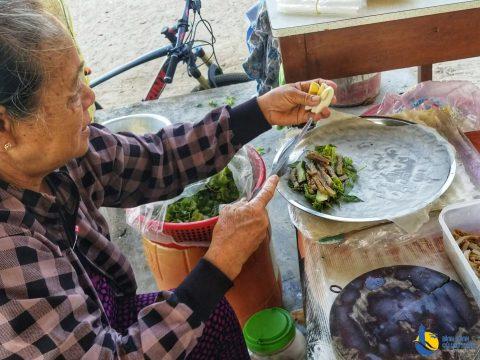 Những món ăn vặt trên đảo Cù Lao Xanh ăn xong trả tiền phải giật mình