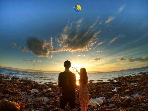 Bãi Nam - Bãi biển đẹp nhất tại Cù Lao Xanh