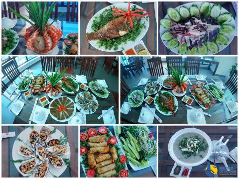Ẩm thực Cù Lao Xanh - Nhà hàng cao cấp view biển