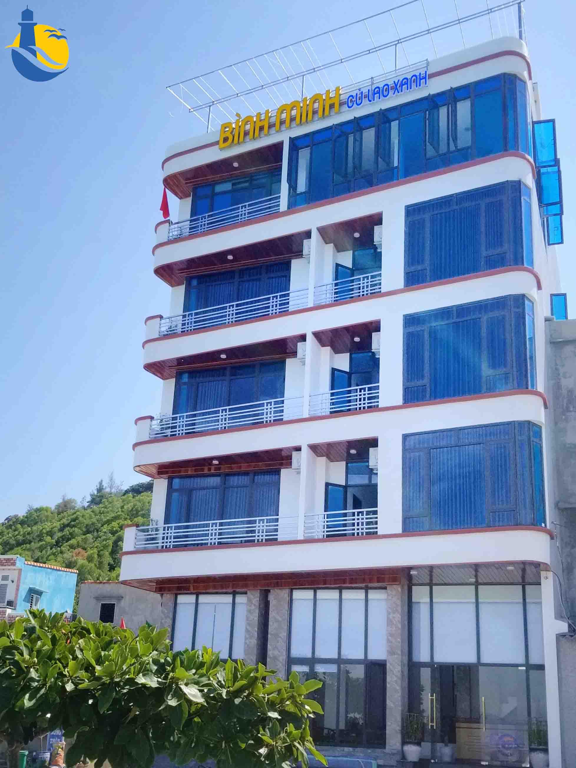 khách sạn Bình minh Cù Lao Xanh