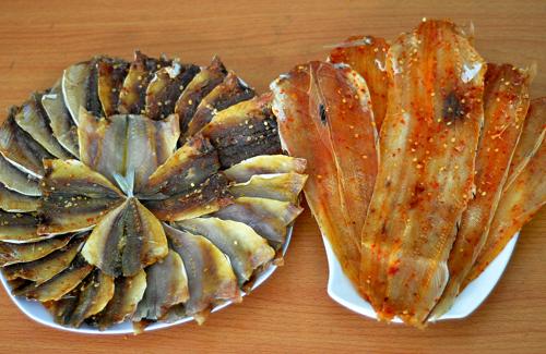các loại hải sản khô đặc sản du lịch quy nhơn
