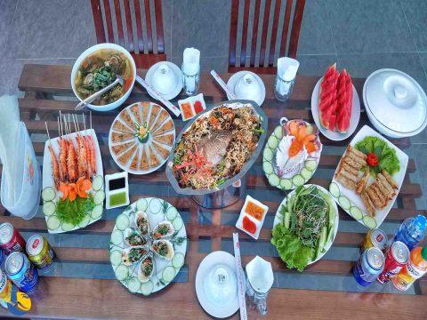 Ẩm thực Cù Lao Xanh mang hương vị của núi rừng