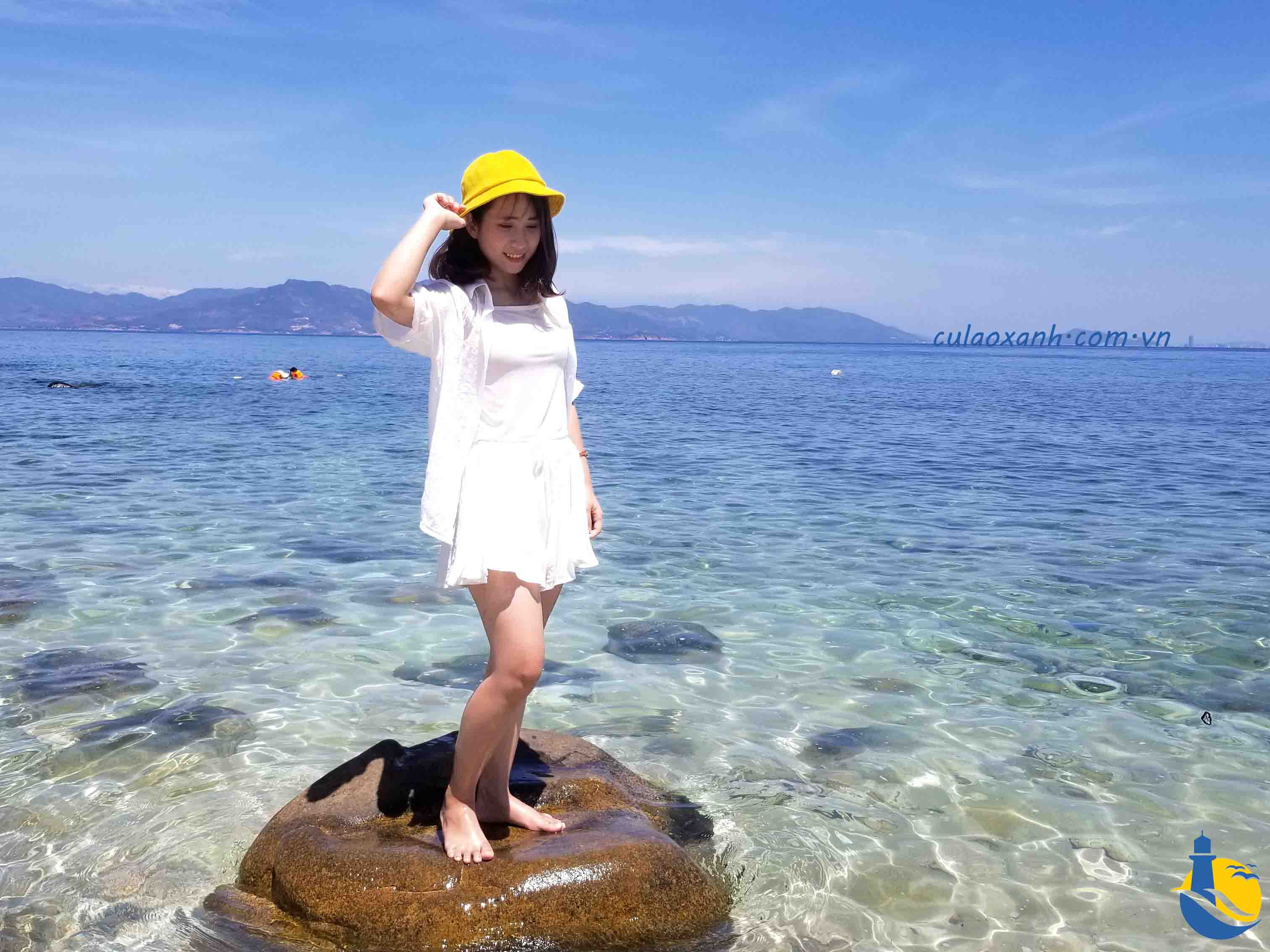 bãi biển Cù Lao Xanh biển Quy Nhơn