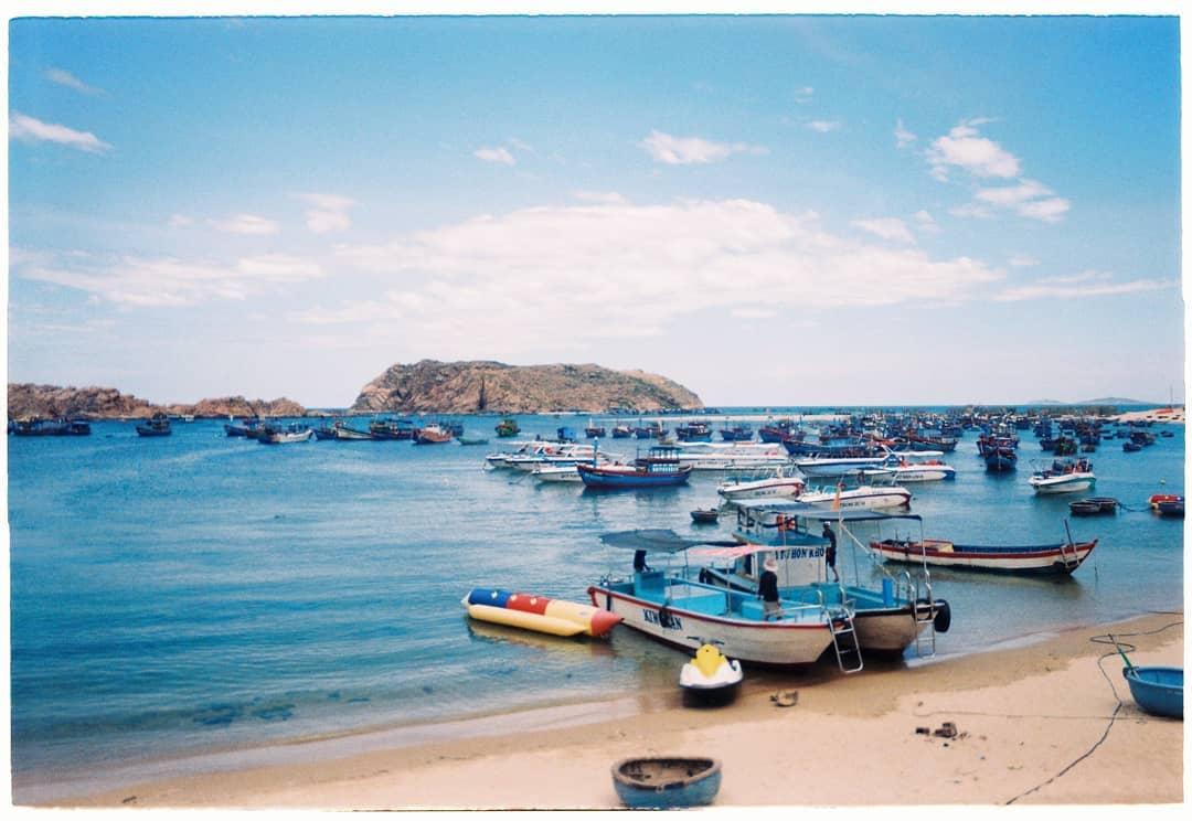 bãi biển hòn Khô biển Quy Nhơn