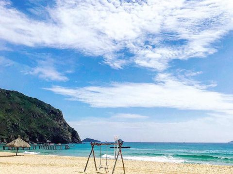 bãi biển kỳ co biển quy nhơn