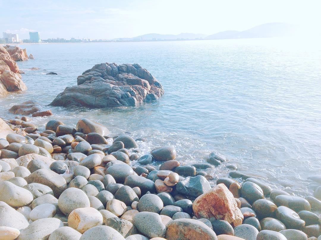 bãi tắm hoàng hậu biển quy nhơn