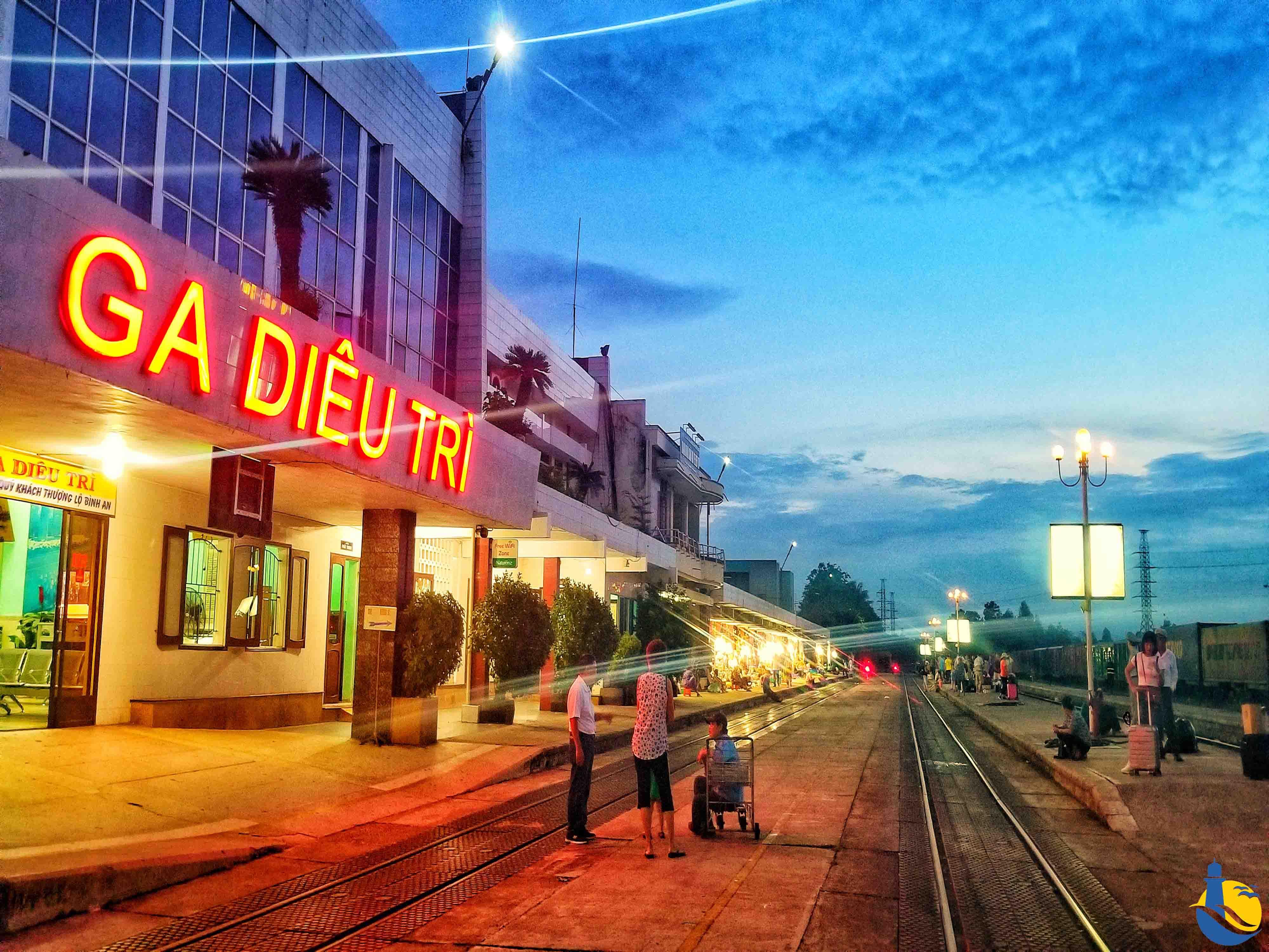 Du lịch Quy Nhơn ga tàu hỏa
