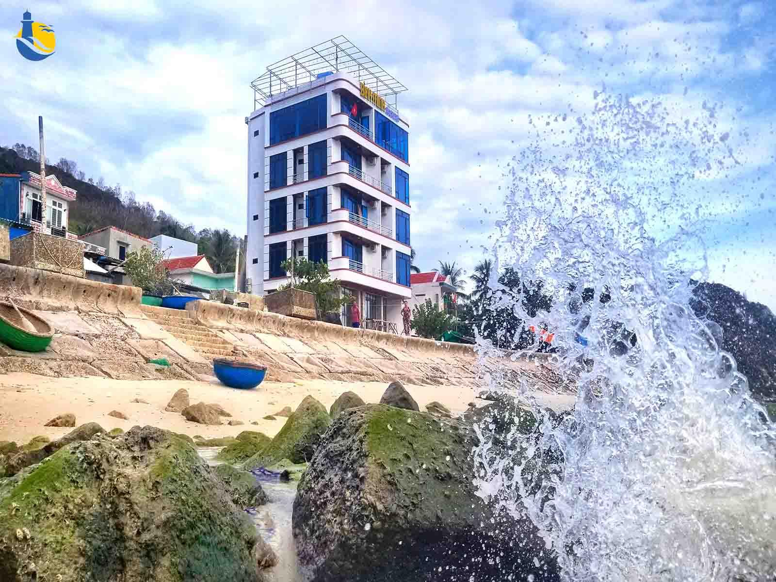 Khách sạn nghỉ dưỡng ở Cù Lao Xanh