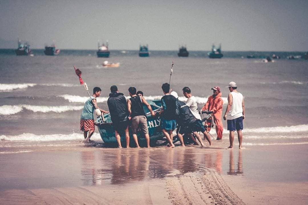 Làng chài Nhơn Lý địa điểm du lịch Quy Nhơn