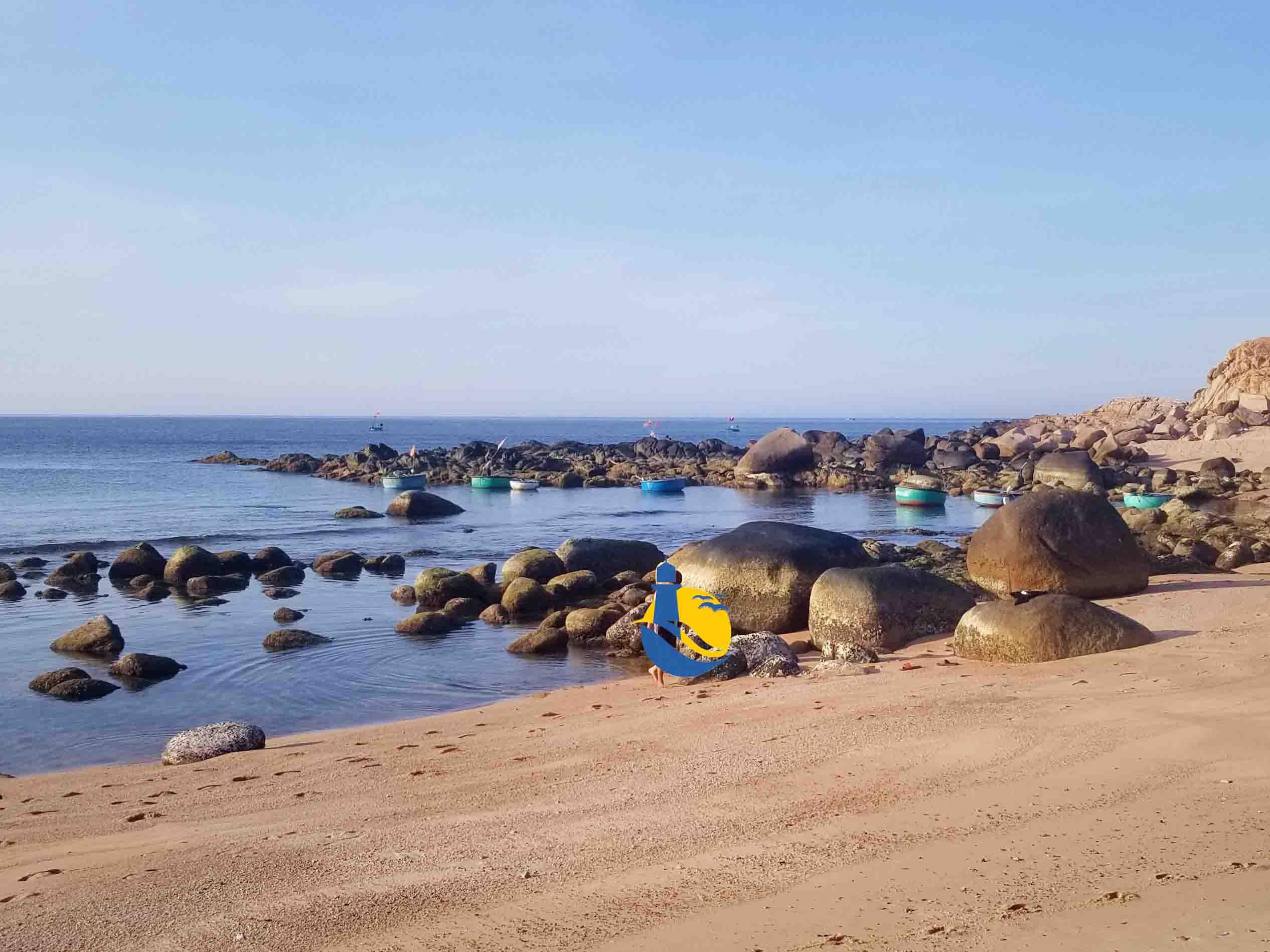 tắm cát chữa bệnh tại Cù Lao Xanh