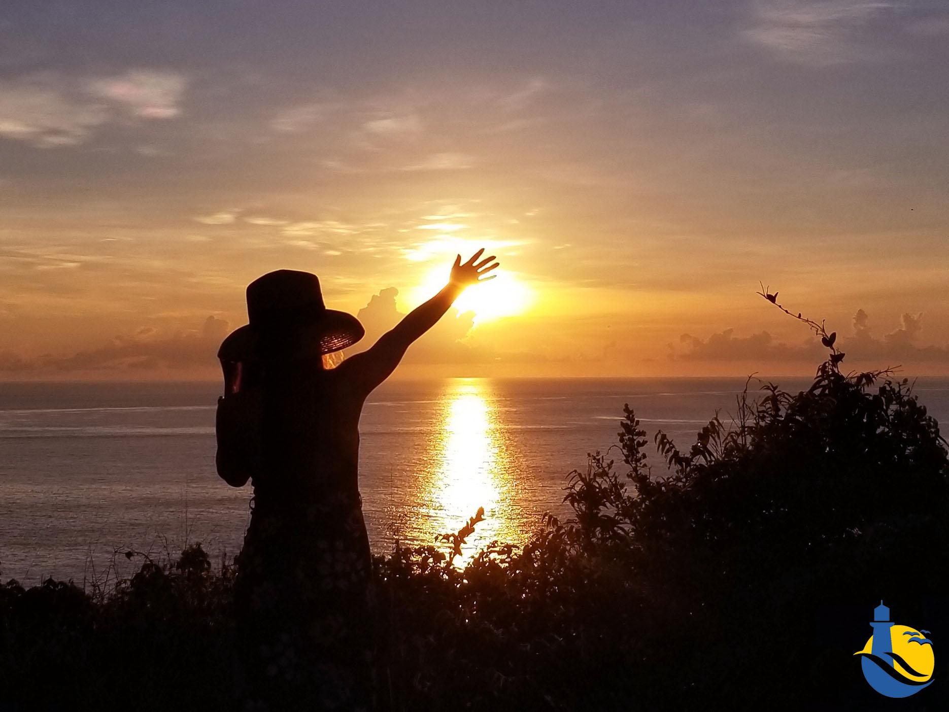 Bỏ túi bí kíp ngắm bình minh trên đảo Cù lao xanh