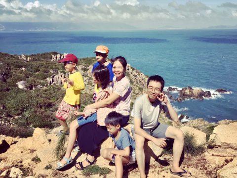 Review Cù Lao Xanh Quy Nhơn của gia đình
