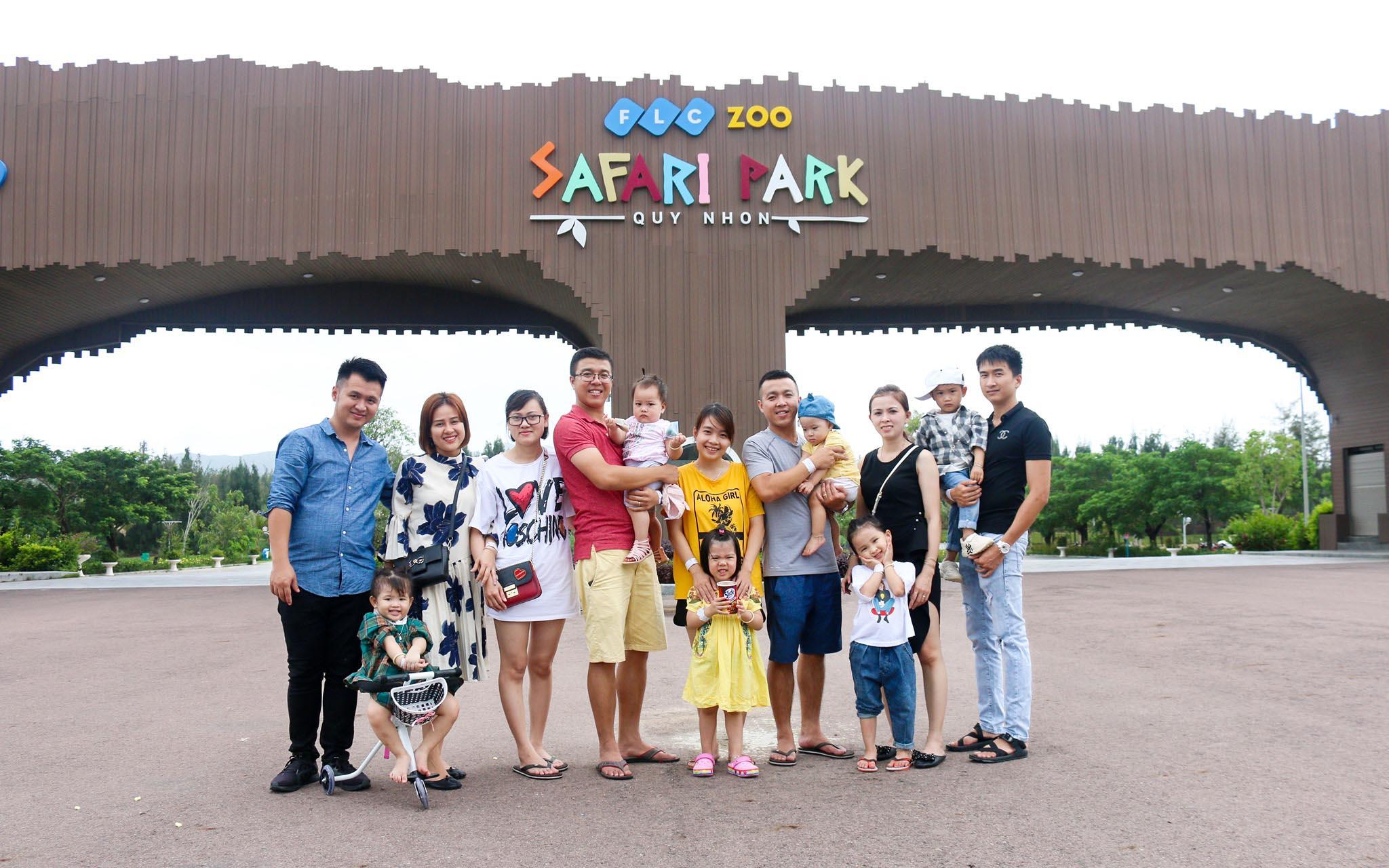 du lịch quy nhơn hình ảnh FLC safari