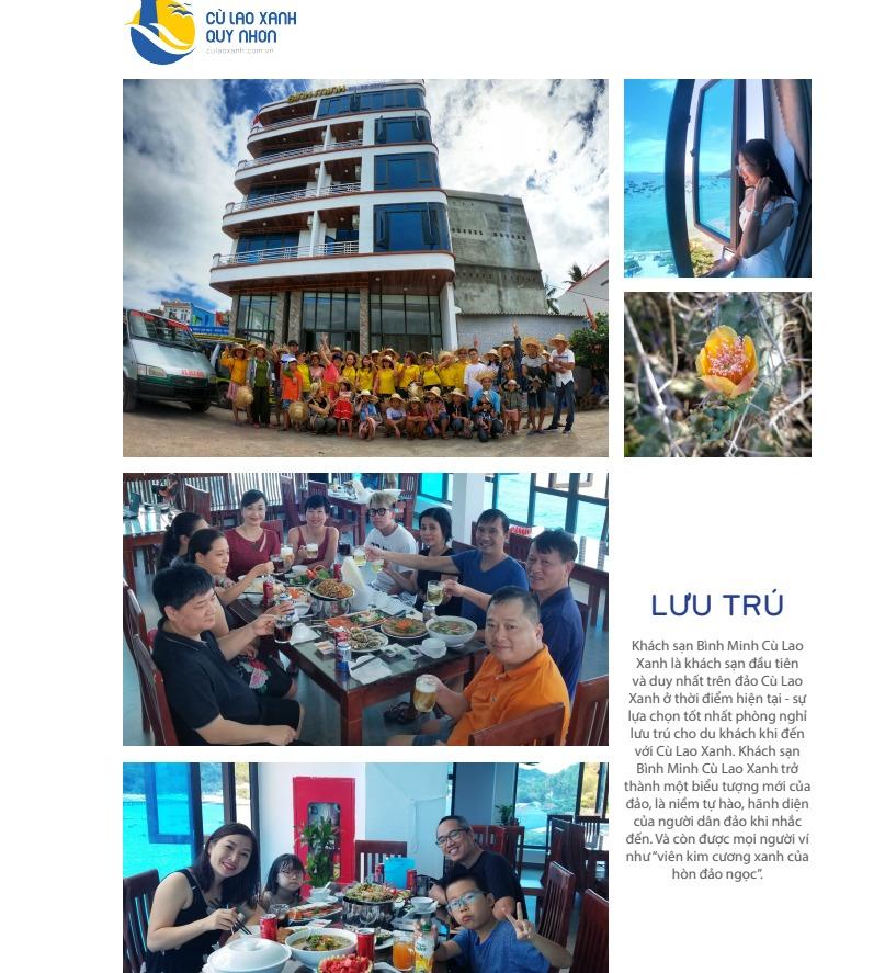 Khách sạn của Công Ty Cù Lao Xanh Quy Nhơn