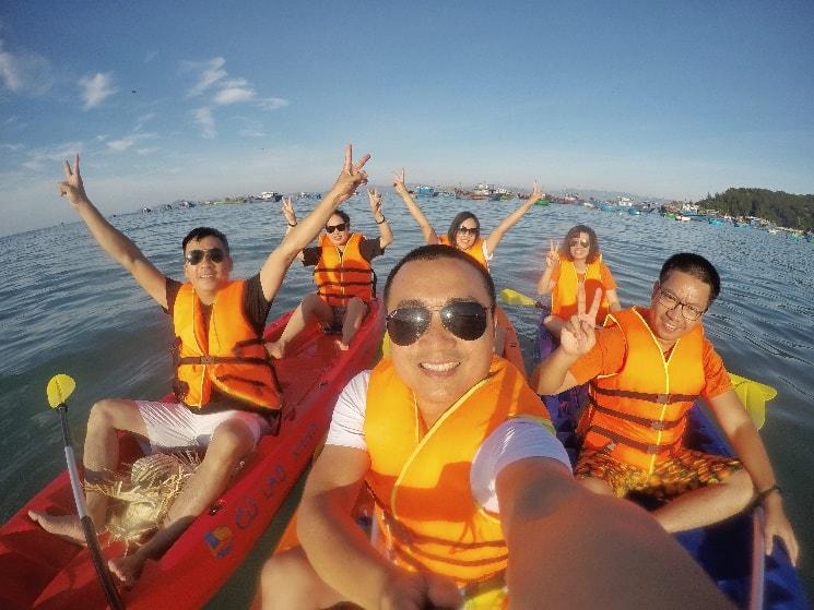 Trải nghiệm chèo thuyền Kayak