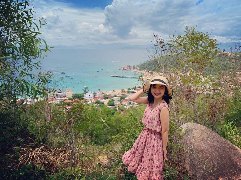 Mọi góc cảnh ở Cù Lao Xanh du khách đều có thể lưu lại những bức hình đẹp