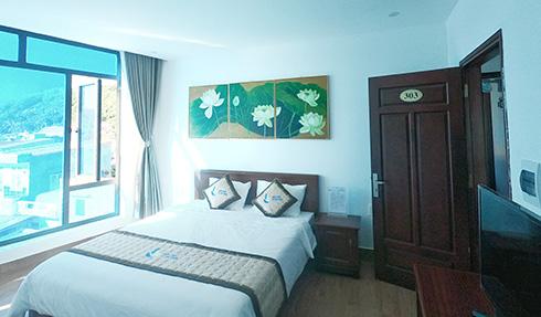 PHòng ngủ khách sạn cù lao xanh