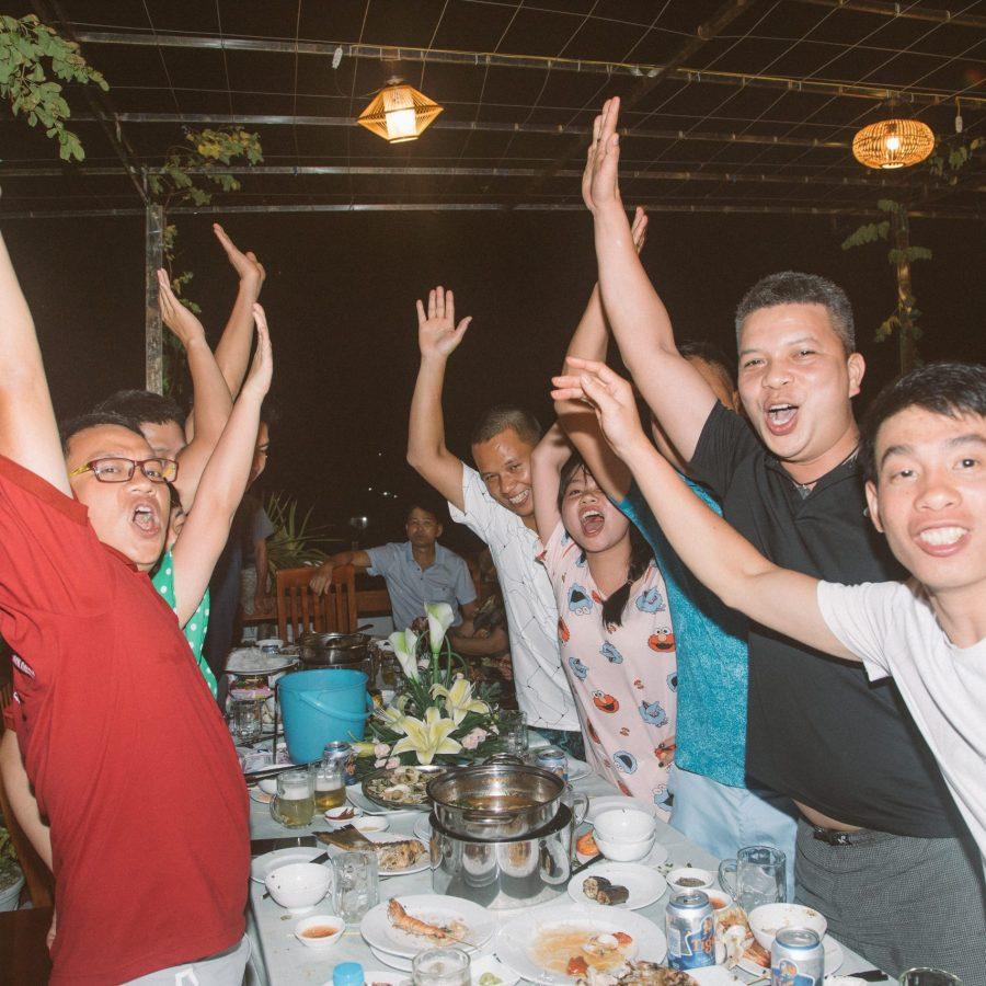 Tiệc BBQ tại Cù Lao Xanh