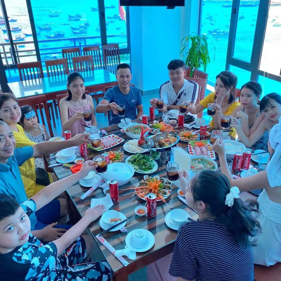 nhà hàng cù lao xanh
